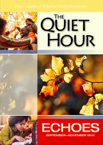 Echoes Adult Quiet Hour - Fall 2017