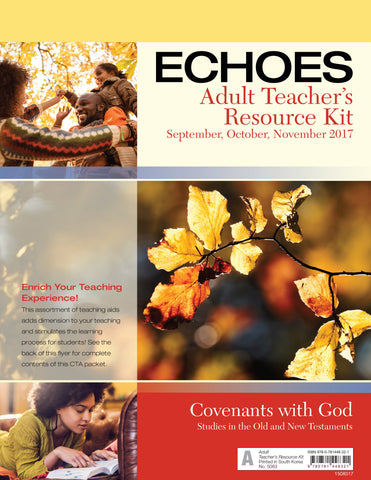 Echoes Adult Teacher's Resource Kit - Fall 2017
