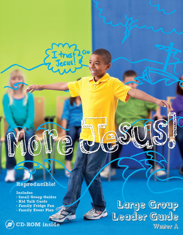 Gospel Light Elementary Large Group Leaders Guide | Winter 2017-2018