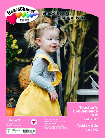 HeartShaper - Toddlers & 2s Teacher's Convenience Kit - Fall 2017