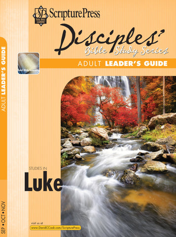 Scripture Press Adult Disciples Bible Study Leaders Guide - Fall 2017