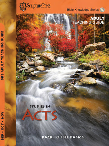 Scripture Press Adult Bible Knowledge Series Leader's Guide - Fall 2017