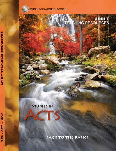 Scripture Press Adult Bible Knowledge Series Teaching Resource - Fall 2017