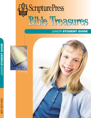 Scripture Press Junior Bible Treasures Student Guide - Fall 2017