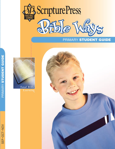 Scripture Press Primary Bible Ways Student Guide - Fall 2017