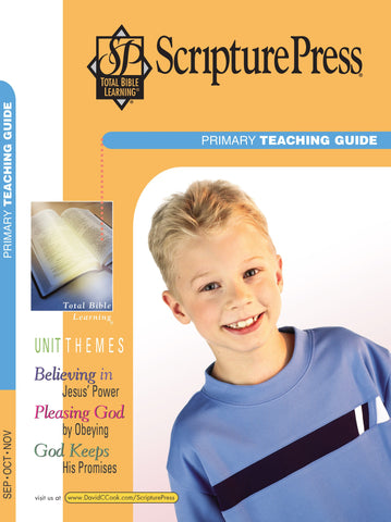 Scripture Press Primary Teaching Guide - Fall 2017