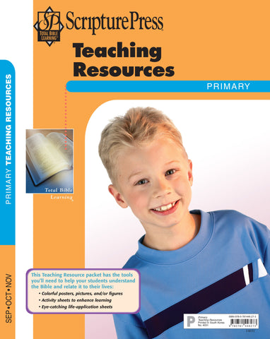 Scripture Press Primary Teaching Resources - Fall 2017