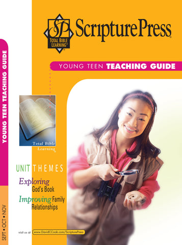 Scripture Press Young Teen Teaching Guide - Fall 2017