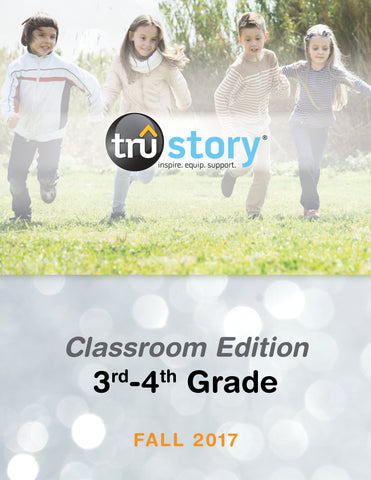 TruStory - Grades 3-4 Classroom Edition Quarterly Kit (25-50 Students) - Fall 2017
