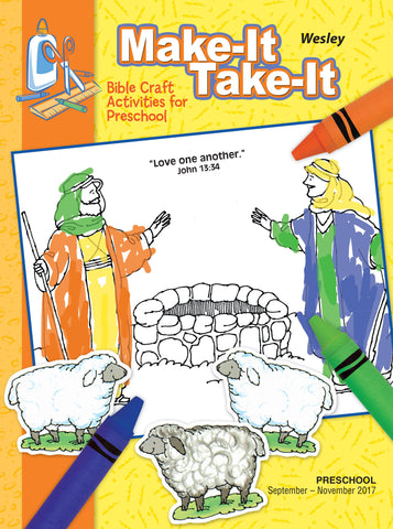 Wesley Preschool Make-It Take-It - Fall 2017