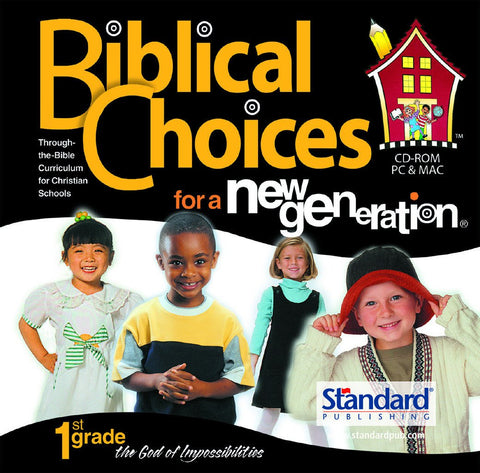 Biblical Choices - 1st Grade CD-ROM
