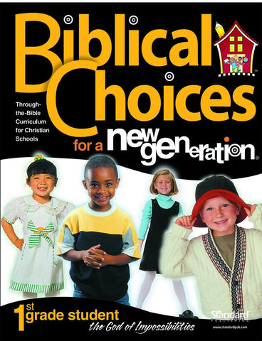 Biblical Choices - 1st Grade Student Pack