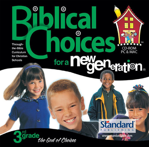 Biblical Choices - 3rd Grade CD-ROM