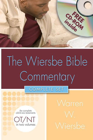The Wiersbe Bible Commentary Complete Set by Warren W. Wiersbe