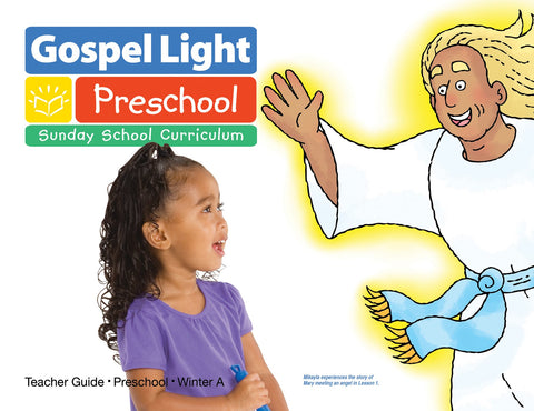 Gospel Light Preschool Teacher Guide | Winter A