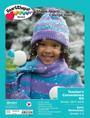 HeartShaper Early Elementary Teacher's Convenience Kit | Winter 2017-2018