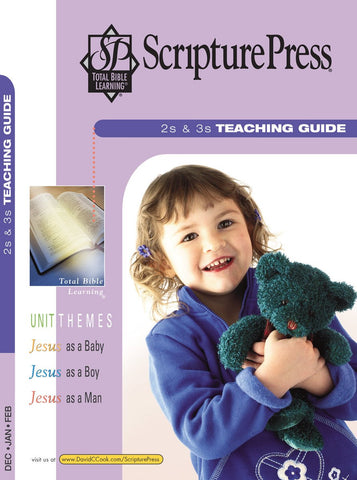 Scripture Press 2s & 3s Teaching Guide | Winter 2017-2018