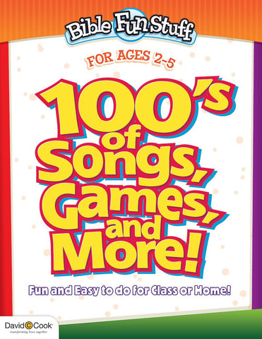100's of Songs, Games and More for Preschoolers