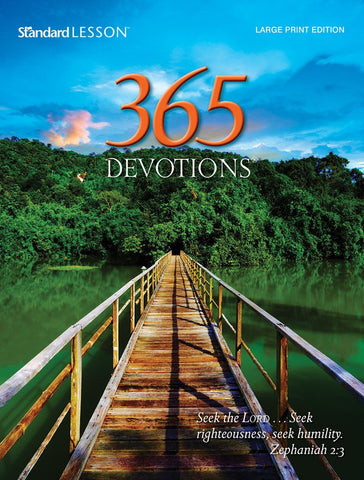 365 Devotions® Large Print Edition—2015