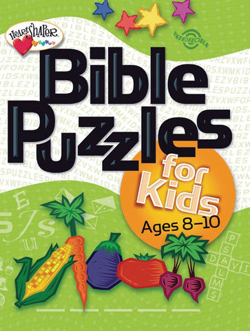 Bible Puzzles for Kids (Ages 8-10)