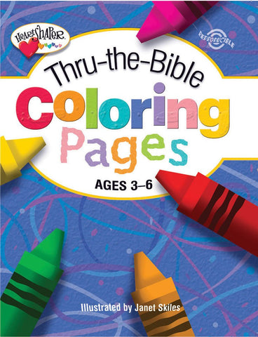 Thru-the-Bible Coloring Pages (Ages 3-6)