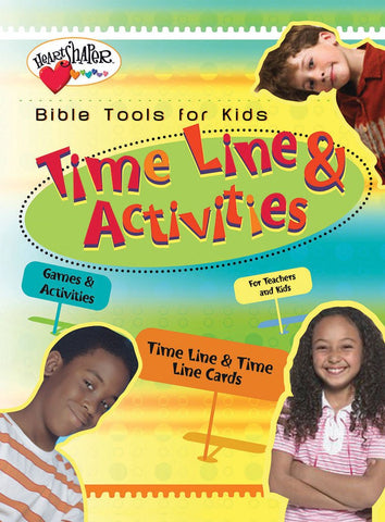 Bible Tools for Kids: Time Line & Activities
