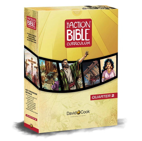 Action Bible Curriculum Kit - Print Quarter 2