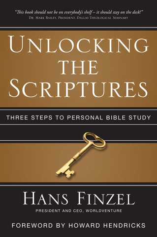 Unlocking The Scriptures - Hans Finzel