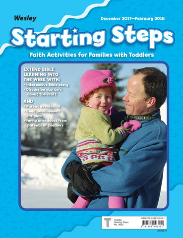 Wesley Toddler/2 Starting Steps | Winter 2017-2018