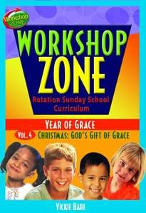 Workshop Zone Year 2, Vol. 4: Christmas, God's Gift (Downloadable Product)