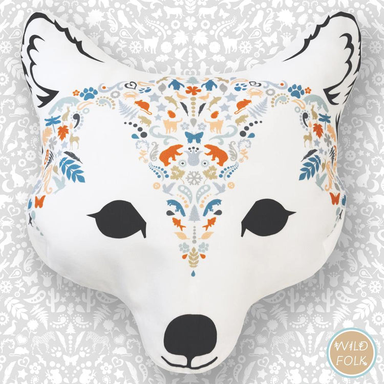 Arctic Fox Cushion