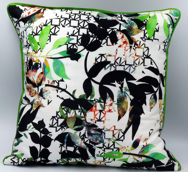 Bijoux Cushion - Flower Print