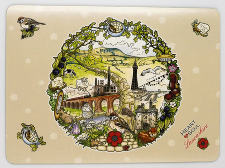 Heart & Soul Lancashire Placemats (Pack of 4)