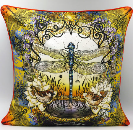 Dragon Fly Cushion