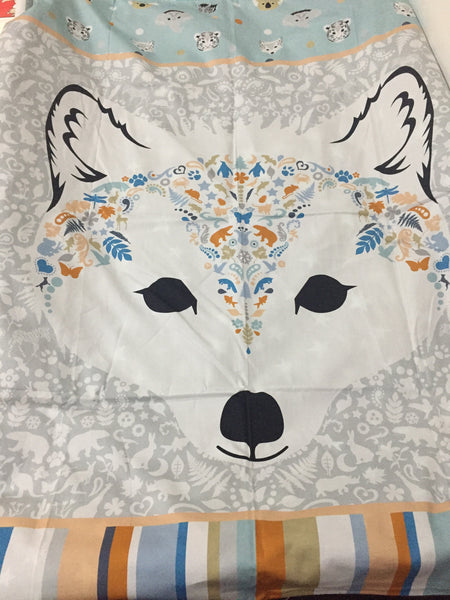 Arctic Fox Cot Bedding