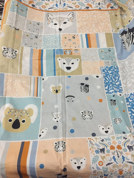 Patchwork Cot Bedding