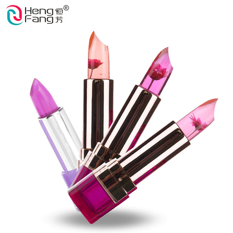 Temperature-changed Lipstick Lip Balm 7 Colors Lipbalm Nutritious Lips 3.5g Makeup Brand HengFang #H9223-H9266