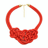 2016 Hot Sale Cotton Necklace Shourouk Statement Necklace Choker Necklaces & Pendants Women Gift Kolye Fashion Jewelry