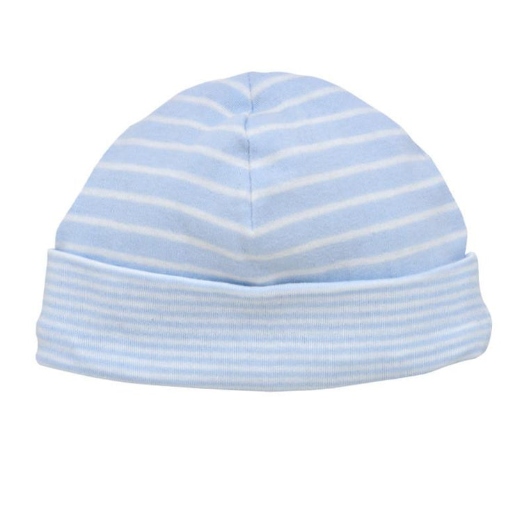 Reversible Pale Blue Hat - Under the Nile