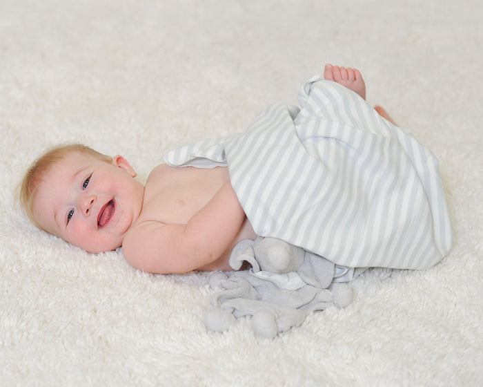 Grey Swaddle Blanket - Under the Nile - Camila New York