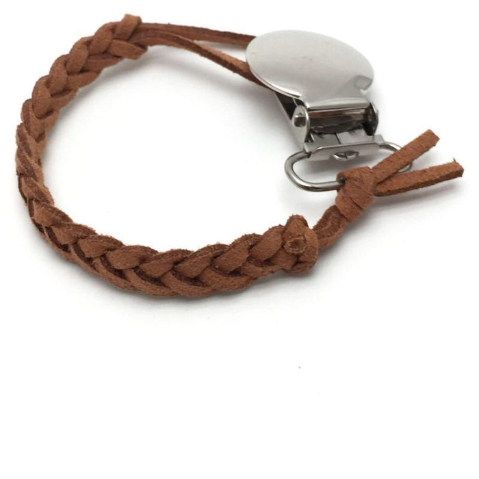 Latte Pacifier Clip - Camila New York
