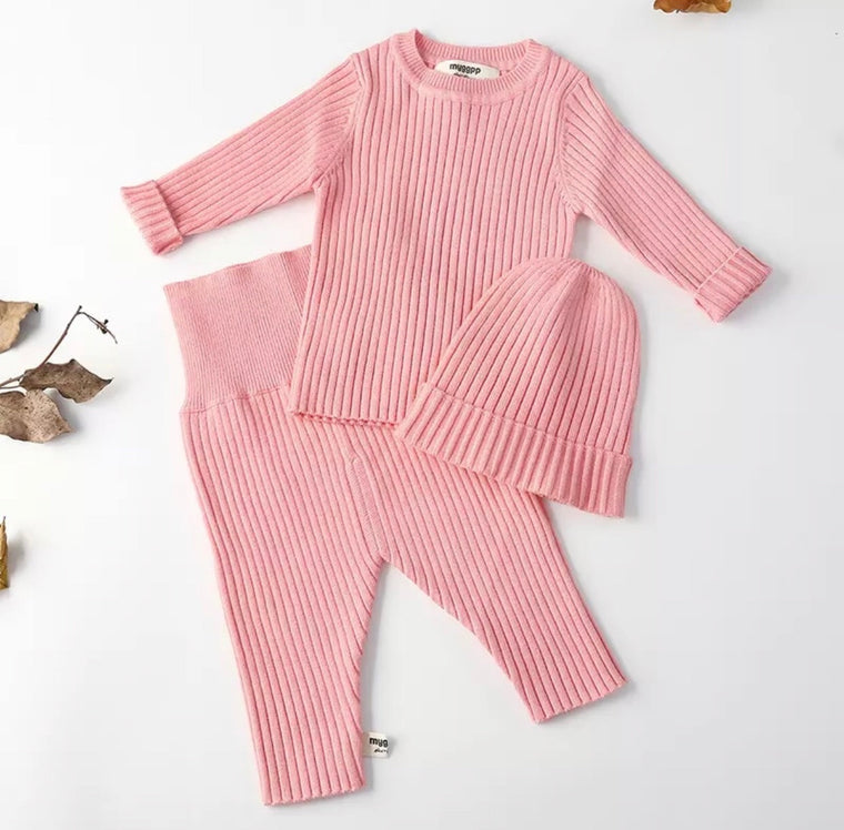 Ballet Pink Quincy 3 Piece Set