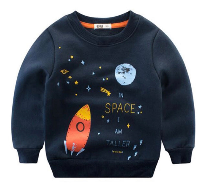 In Space I'm Taller Crewneck - Camila New York