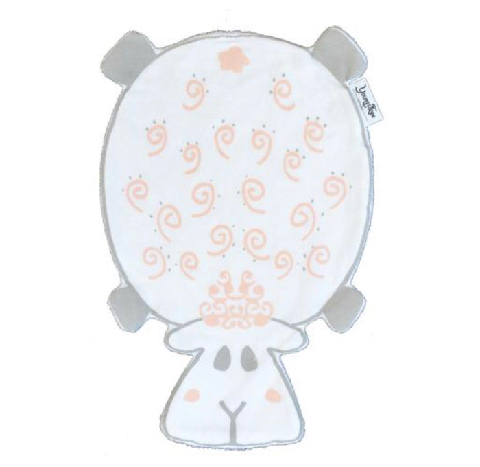 """Dribble Droolers"" Saddie The Sheep Burp Cloth - Camila New York"