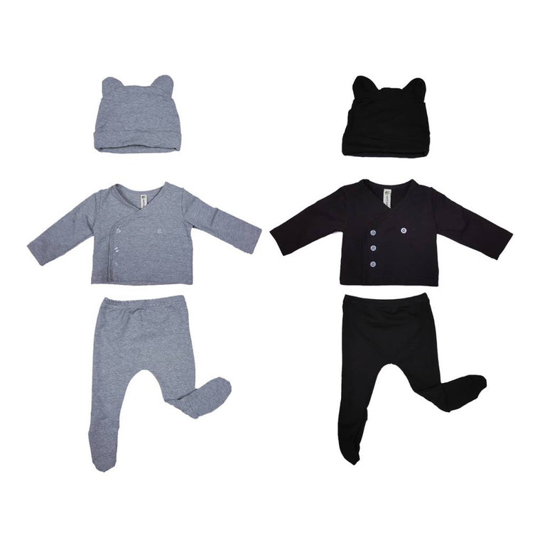 3 PC Newborn Layette Gift Set
