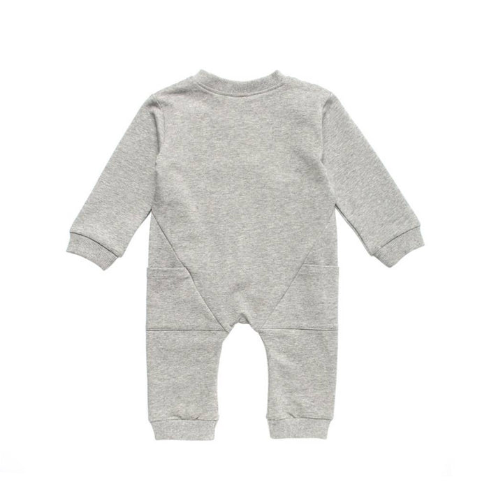 Long Sleeve Biker Romper- Earth Baby Outfitters - Camila New York