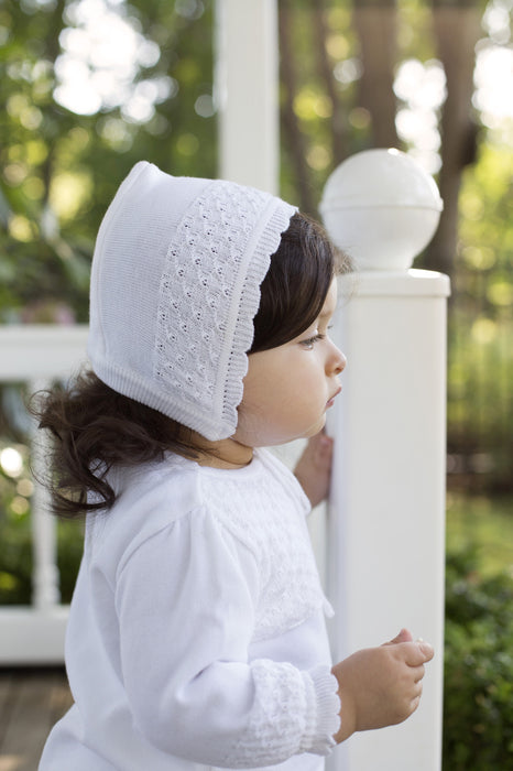 Feltman Brothers- Girls Special Occasion Knit Bonnet - Camila New York