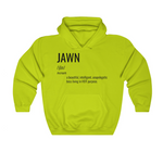 """WHAT'S A JAWN?"" HOODIE - NEON GREEN"