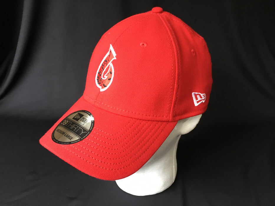 Scarlet Poly Fitted - Angler's Choice Marine