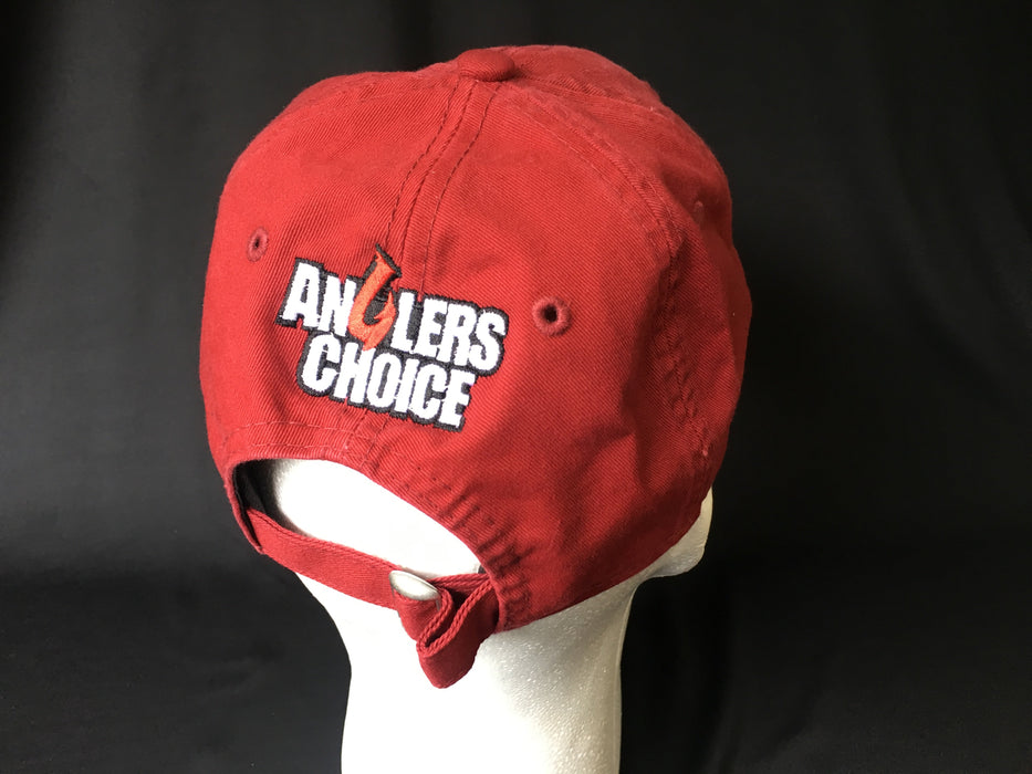 Dark Red Relaxed - Angler's Choice Marine